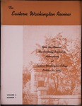 Eastern Washington Review, Autumn 1949 by Eastern Washington College of Education