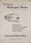 Eastern Washington Review, Summer / Fall 1951 by Eastern Washington College of Education