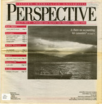 Perspective, Vol. 7 No. 3, Spring 1996 by Eastern Washington University. Division of University Relations.