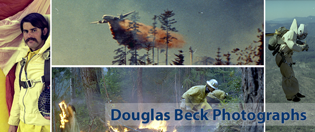 Douglas Beck Photographs on Smokejumping