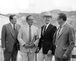 Watt, James G. and other Dignitaries at the Third Power House Dedication by U.S. Bureau of Reclamation