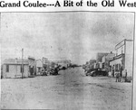 "Grand Coulee, Washington ""B"" Street by Hubert Blonk"
