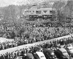 Listening to President Truman by U.S. Bureau of Reclamation