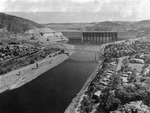 Grand Coulee Dam from the North by unknown