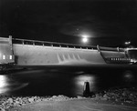 Grand Coulee Dam at Night by U.S. Bureau of Reclamation