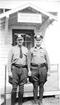 Fisher and McGinn at the Mason City Office, Washington State Patrol.