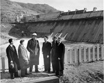 Inspecting Progress on Grand Coulee Dam