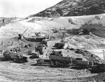 Excavation for Grand Coulee Dam.