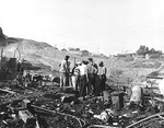 After the Fire at Grand Coulee by Hubert Blonk