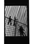 Workers on steel framework