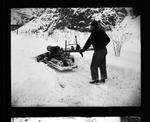 Motorized snow plow