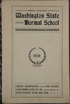 Annual Catalogue of the Washington State Normal School at Cheney, Washington, 1898-1899 and 1899-1900 by State Normal School (Cheney, Wash.)