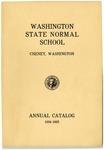 Washington State Normal School, Cheney, Washington, annual catalog, 1934-1935