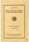 Catalog Number, State Normal School, Cheney, Washington, 1927-1928