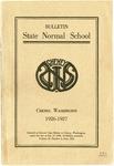 Catalog Number, State Normal School, Cheney, Washington, 1926-1927