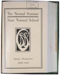 Normal Seminar Catalog Number, State Normal School, Cheney, Washington, 1920-1921 by State Normal School (Cheney, Wash.)