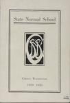 Normal Seminar Catalog Number, State Normal School, Cheney, Washington, 1919-1920