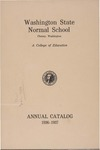 Washington State Normal School, Cheney, Washington, annual catalog, 1936-1937