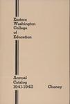 Eastern Washington College of Education, Cheney, Washington, annual catalog, 1941-1942