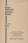 Eastern Washington College of Education, Cheney, Washington, annual catalog, 1945-1946