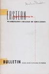 Eastern Washington College of Education, Cheney, Washington, annual catalog, 1948-1949
