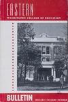Eastern Washington College of Education, Cheney, Washington, annual catalog, 1950-1951