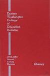 Eastern Washington College of Education, Cheney, Washington, annual catalog, 1955-1956