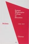Eastern Washington College of Education, Cheney, Washington, annual catalog, 1956-1957