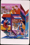 Entertainment montage slide for Expo '74 by Coons, Shotwell, Clark, and Associates