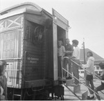 Main Street USA tour train by Michael J. Denuty