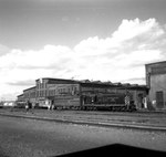 Locomotives outside Hillyard Shop by Michael J. Denuty
