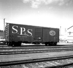 SP&S box car 12360 by Michael J. Denuty