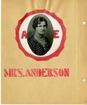 Ellen H. Richards Club scrapbook page 2 by Nancy Kate Broadnax Philips