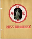 Ellen H. Richards Club scrapbook page 3 by Nancy Kate Broadnax Philips