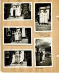 Ellen H. Richards Club scrapbook page 30 by Nancy Kate Broadnax Philips