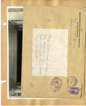 Ellen H. Richards Club scrapbook envelope by Nancy Kate Broadnax Philips