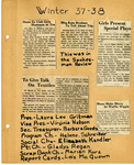 Ellen H. Richards Club scrapbook page 73