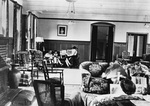 Senior Hall second floor lounge by Unknown