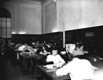 Students studying at Hargreaves Library III