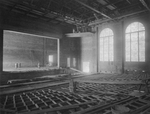 Showalter Hall auditorium by A. A. Ames