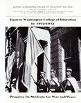 Eastern Washington College of Education in 1942-1943 Prepares its Students for War and Peace, 1943 by Eastern Washington College of Education