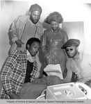 Black Student Union Officers by Unknown and Publications