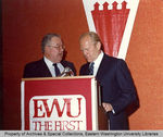 President Gerald Ford at Eastern's Centennial