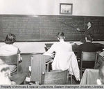 Eastern Washington State College Math Class by Unknown and Publications