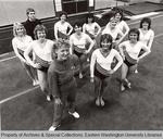 Eastern Washington University Women's Gymnastics by Unknown