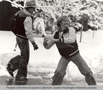 Snowball Fight by Unknown