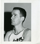 Dick Edwards in basketball uniform by Publications, Eastern Washington State College
