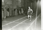 Lyle Balderson in track meet by Publications, Eastern Washington State College