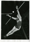 John Kaelin performing pole vault by Publications, Eastern Washington State College