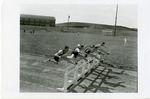 Runners clear hurdle at track meet by Publications, Eastern Washington State College